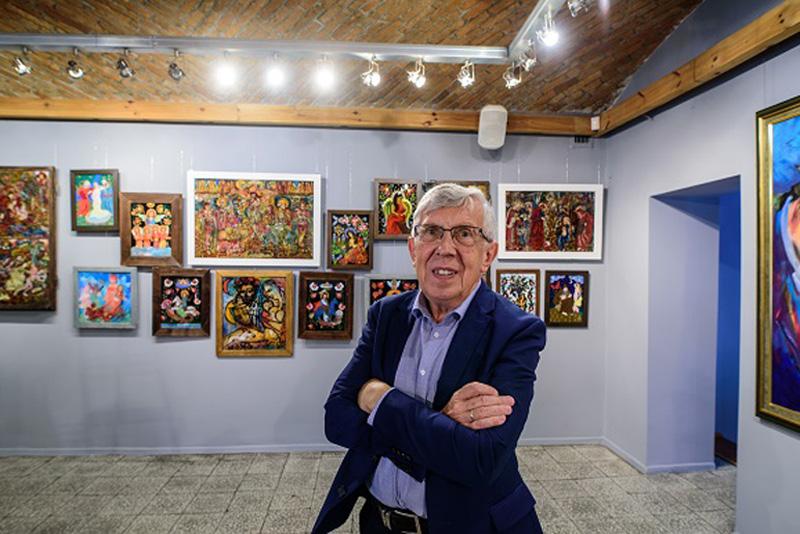 Założyciel i kierownik Galerii Sztuki ROK – Zbigniew Micherdziński, fot. Artur Strąk